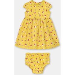 Cath Kidston Greenwich Flowers Baby Emily Dress in Yellow, 9-12 Mo found on Bargain Bro UK from Cath Kidston (UK)