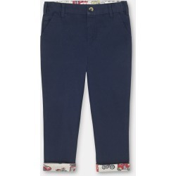 Cath Kidston Kids Trousers in Deep Navy, Solid, 100% Cotton Canvas, 1-2 yr found on Bargain Bro UK from Cath Kidston (UK)