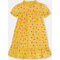 Cath Kidston Greenwich Flowers Emily Dress in Yellow, 4-5 yr found on Bargain Bro UK from Cath Kidston (UK)
