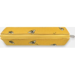 Cath Kidston Bee Curved Pencil Case in Deep Yellow found on Bargain Bro UK from Cath Kidston (UK)