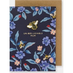 Cath Kidston Greenwich Flowers Mum Pin Card in Midnight Blue found on Bargain Bro UK from Cath Kidston (UK)