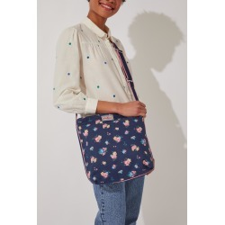 Cath Kidston Park Meadow Bunch Zip Messenger Bag in Navy found on Bargain Bro UK from Cath Kidston (UK)