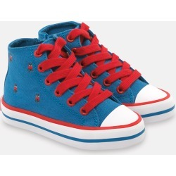 Cath Kidston Kids High Top Trainer Shoes in London Blue, UK 9 found on Bargain Bro UK from Cath Kidston (UK)