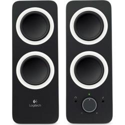 Logitech Z200 Multimedia Speakers (Midnight Black) UK