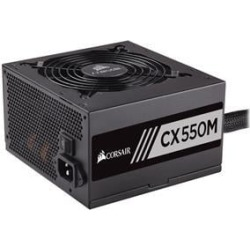 Corsair CX550M 550W Power Supply 80 Plus Bronze found on Bargain Bro from CCL COMPUTERS LIMITED for £80