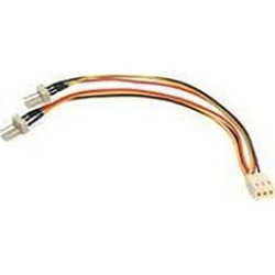 StarTech.com (15.25cm) TX3 Fan Power Splitter Cable found on Bargain Bro UK from CCL COMPUTERS LIMITED