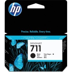 HP 711 (Volume: 38ml) Black Ink Cartridge found on Bargain Bro UK from CCL COMPUTERS LIMITED