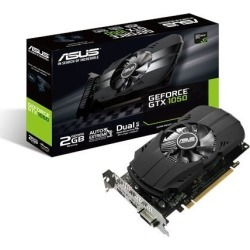 ASUS GeForce GTX 1050 2GB Phoenix Boost Graphics Card found on Bargain Bro UK from CCL COMPUTERS LIMITED for $185.95