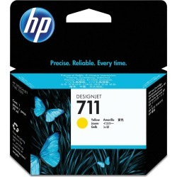 HP 711 (Volume: 29ml) Yellow Ink Cartridge found on Bargain Bro UK from CCL COMPUTERS LIMITED