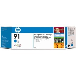 HP 91 Ink Cartridge (775 ml) with Vivera Ink (Cyan) found on Bargain Bro UK from CCL COMPUTERS LIMITED