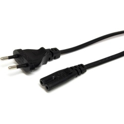 StarTech.com (1m) Standard Laptop Power Cord - EU to C7 Power Cable Lead found on Bargain Bro UK from CCL COMPUTERS LIMITED