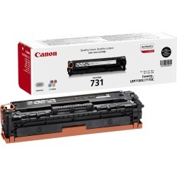 Canon 731 (Yield: 1,400 Pages) Black Toner Cartridge found on Bargain Bro UK from CCL COMPUTERS LIMITED