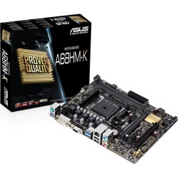 ASUS A68HM-K mATX Motherboard for AMD FM2+ CPUs found on Bargain Bro UK from CCL COMPUTERS LIMITED