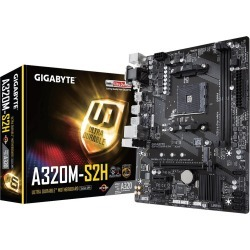 Gigabyte A320M-S2H mATX Motherboard for AMD AM4 CPUs found on Bargain Bro UK from CCL COMPUTERS LIMITED