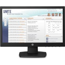 HP V197 18.5 inch LED Monitor - 1366 x 768, 5ms Response, DVI