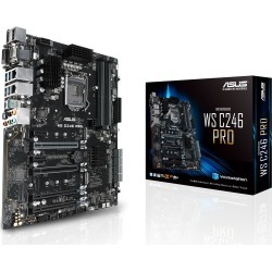 ASUS WS C246 PRO ATX Motherboard for Intel LGA1151 CPUs found on Bargain Bro UK from CCL COMPUTERS LIMITED
