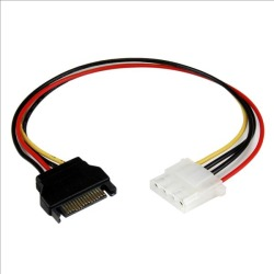 StarTech.com (12 inch) SATA to Molex LP4 Power Cable Adaptor - F/M found on Bargain Bro UK from CCL COMPUTERS LIMITED