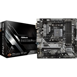 ASRock B450M Pro4 mATX Motherboard for AMD AM4 CPUs found on Bargain Bro UK from CCL COMPUTERS LIMITED