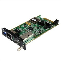 StarTech.com Gigabit Ethernet Fiber Media Converter Card Module with Open SFP Slot found on Bargain Bro UK from CCL COMPUTERS LIMITED