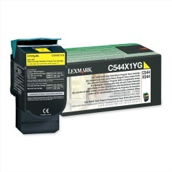 Lexmark Return Program (Extra High Yield: 4,000 Pages) Yellow Toner Cartridge for C544, X544 Colour Laser Printers found on Bargain Bro UK from CCL COMPUTERS LIMITED