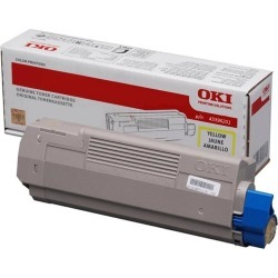 OKI High Capacity Yellow Toner Cartridge (Yield 11,500 Pages) for MC770/MC780 Multi Function Printers