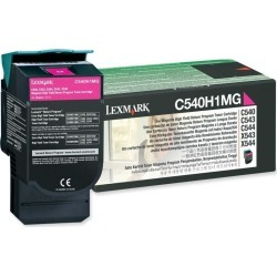 Lexmark Return Program (High Yield: 2,000 Pages) Magenta Toner Cartridge for C54x, X54x Colour Laser Printers found on Bargain Bro UK from CCL COMPUTERS LIMITED