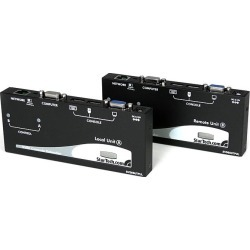 StarTech.com USB VGA Console Extender over Cat5 UTP (300m) (Black) found on Bargain Bro UK from CCL COMPUTERS LIMITED