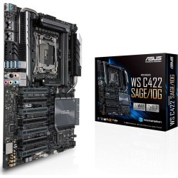 ASUS WS C422 SAGE/10G Other Motherboard for Intel LGA2066 CPUs found on Bargain Bro UK from CCL COMPUTERS LIMITED