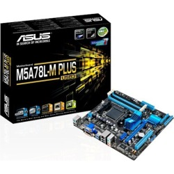 ASUS M5A78L-M PLUS/USB3 mATX Motherboard for AMD AM3+ CPUs found on Bargain Bro UK from CCL COMPUTERS LIMITED