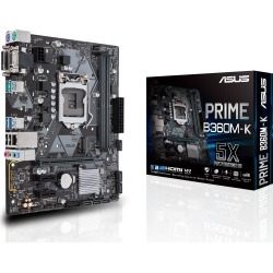 ASUS PRIME B360M-K mATX Motherboard for Intel LGA1151 CPUs found on Bargain Bro UK from CCL COMPUTERS LIMITED