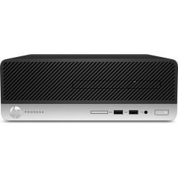 HP ProDesk 400 G5 Small Form Factor PC Core i3 (8100) 3.6GHz 8GB 256GB SSD LAN Windows 10 (UHD Graphics 630) found on Bargain Bro UK from CCL COMPUTERS LIMITED