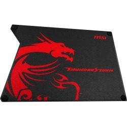 Promotional Item: MSI Thunderstorm Aluminium Gaming Mouse Pad