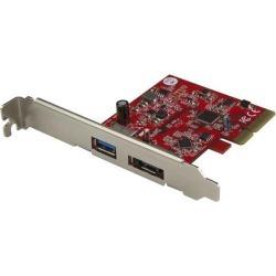 StarTech.com USB-A 3.1 and eSATA (10 Gbps) PCIe Card