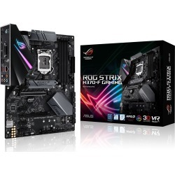 ASUS ROG STRIX H370-F GAMING ATX Motherboard for Intel LGA1151 CPUs found on Bargain Bro UK from CCL COMPUTERS LIMITED