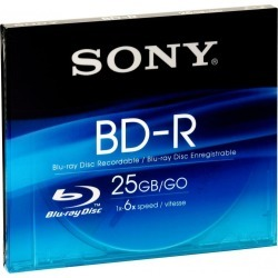 Sony BNR25SL BD-R Blu-ray Disc 25GB 6x found on Bargain Bro UK from CCL COMPUTERS LIMITED