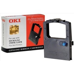 OKI Black Printer Ribbon for 320/390* Flatbed Printer found on Bargain Bro UK from CCL COMPUTERS LIMITED