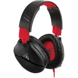 Turtle Beach Recon 70 Gaming Headset (Red) for Nintendo Switch Consoles