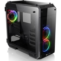 Thermaltake View 71 TG RGB Full Tower Gaming Case - Black USB 3.0