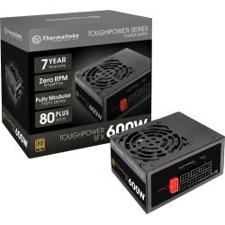 Thermaltake ToughPower SFX 600W Power Supply 80 Plus Gold found on Bargain Bro from CCL COMPUTERS LIMITED for £134