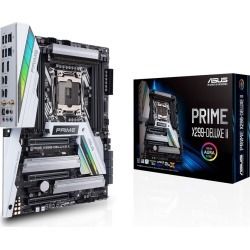 ASUS PRIME X299-DELUXE II ATX Motherboard for Intel LGA2066 CPUs found on Bargain Bro UK from CCL COMPUTERS LIMITED