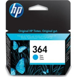 HP 364 (Yield 300 Pages) Cyan Ink Cartridge found on Bargain Bro UK from CCL COMPUTERS LIMITED
