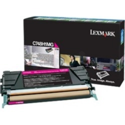 Lexmark (High Yield: 10,000 Pages) Magenta Toner Cartridge for C748 Printers found on Bargain Bro UK from CCL COMPUTERS LIMITED