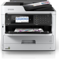 Epson WorkForce Pro WF-C5790DWF (A4) Colour Inkjet Printer (Print/Copy/Scan/Fax) 10.9cm Colour LCD 34ppm (Mono) 34ppm (Colour) 45,000 (MDC) found on Bargain Bro UK from CCL COMPUTERS LIMITED