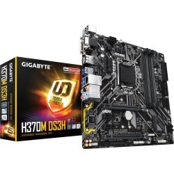 Gigabyte H370M DS3H mATX Motherboard for Intel LGA1151 CPUs found on Bargain Bro UK from CCL COMPUTERS LIMITED