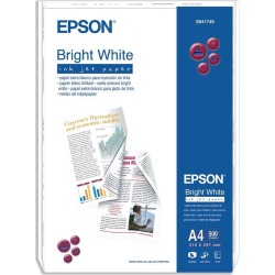 Epson (A4) 90g/m2 Inkjet Paper (Bright White) 1 Pack of 500 Sheets found on Bargain Bro UK from CCL COMPUTERS LIMITED