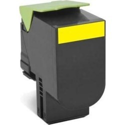 Lexmark Return Program 802HY (High Yield: 3,000 Pages) Yellow Toner Cartridge found on Bargain Bro UK from CCL COMPUTERS LIMITED