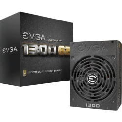 EVGA 1300 G2 1300W Modular Power Supply 80 Plus Gold found on Bargain Bro from CCL COMPUTERS LIMITED for £297