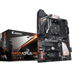 Gigabyte B450 AORUS PRO ATX Motherboard for AMD AM4 CPUs found on Bargain Bro UK from CCL COMPUTERS LIMITED