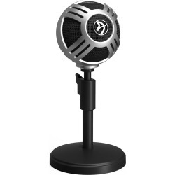 Arozzi Sfera Pro Desktop Microphone (Silver) found on Bargain Bro UK from CCL COMPUTERS LIMITED for $81.83