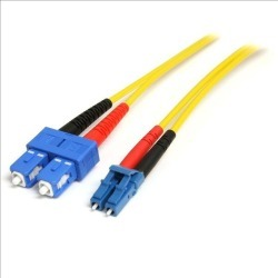 StarTech.com (10m) Single Mode Duplex Fiber Patch Cable LC-SC found on Bargain Bro UK from CCL COMPUTERS LIMITED
